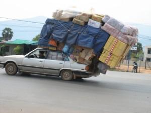 Overloaded car (KS)